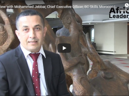Interview with Mohammed Jebbar, Chief Executive Officer, BC Skills Morocco | ALM POY 2018